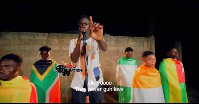 Yaw Tog performing Africa Official Music Video directed by Koopoku Studios, song produced by Khendi Beatz.