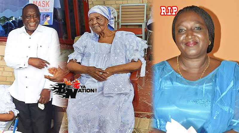 Alan Cash John Kwadwo Kyeremanten and his 101-year-old mother Madam Victoria Kyeremanten and his late sister Bridget Kyerematen-Darko.