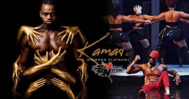 Diamond Platnumz performing Kamata Official Music Video directed by Kenny, song produced by Lizer Classic and S2Kizzy.