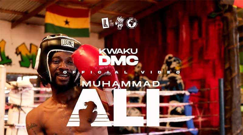 Kwaku DMC performing Muhammad Ali Official Music Video directed by Junie Annan.