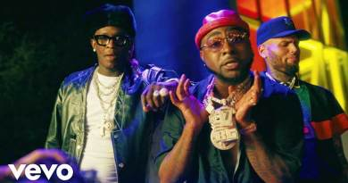Davido ft Chris Brown and Young Thug performing Shopping Spree Music Video directed by Des Gray.