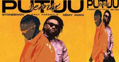 Stonebwoy ft. Remy Adan – Putuu Freestyle Pray Remix Official Music Video, song produced by Streetbeatz.