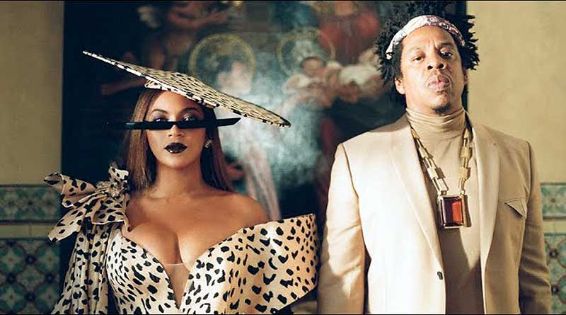 Beyonce featuring Jay-Z, Childish Gambino and Oumou Sangare performing Mood 4 Eva Music Video.