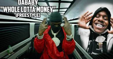 DaBaby performing Whole Lotta Money Freestyle Music Video.