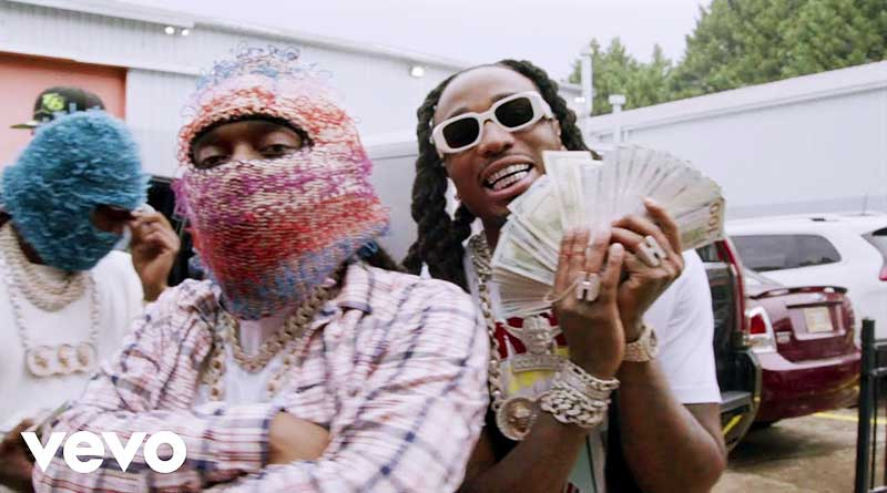 Migos performing How We Coming Music Video.