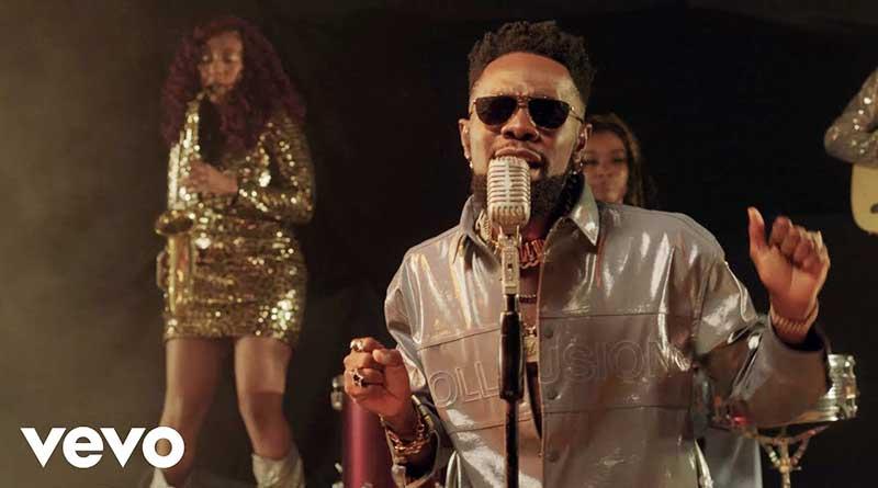 Patoranking performing Black Girl Magic Music Video.