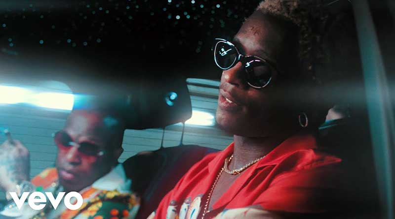 Rich Gang ft Young Thug performing Blue Emerald Music Video.