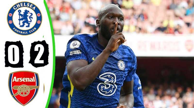 Romelu Lukaku scores as Chelsea win over Arsenal.