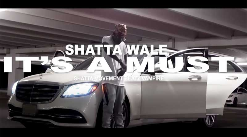 Shatta Wale performing It's A Must Music Video.
