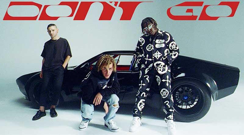 Skrillex, Justin Bieber and Don Toliver performing Don't Go Music Video.