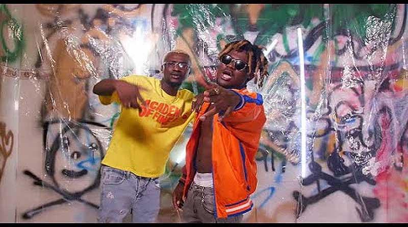 Yaw Berk ft Quamina MP performing Banana Music Video.