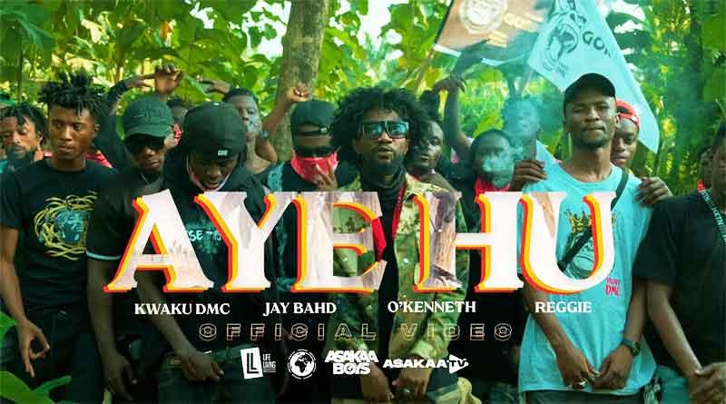 Kwaku DMC ft Jay Bahd OKenneth Reggie Aye Hu Music Video.