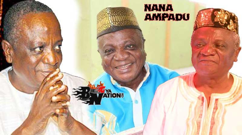 Is Nana Ampadu dead or not.