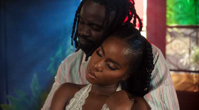 MzVee featuring Tiwa Savage performs Coming Home Music Video.
