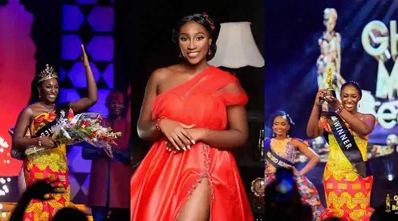 GMB 2021, Sarfoa from the Ashanti Region wins Ghana's Most Beautiful 2021 crown.