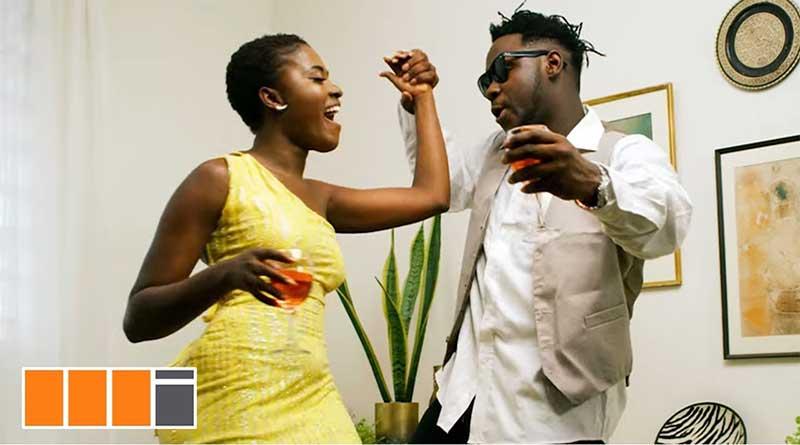 medikal fella makafui king promise ayekoo music video.