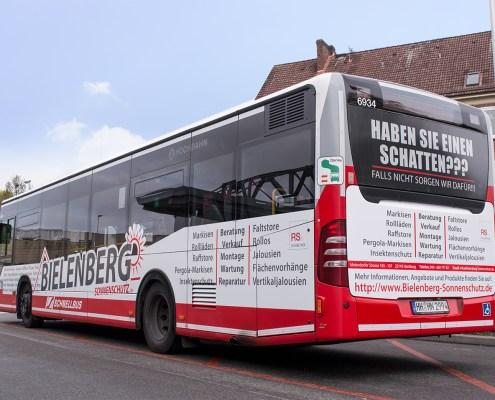 HVV-Buswerbung