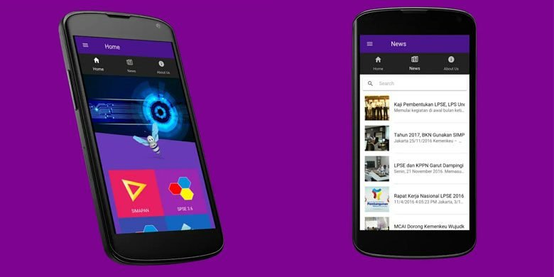 Aplikasi LPSE Mobile