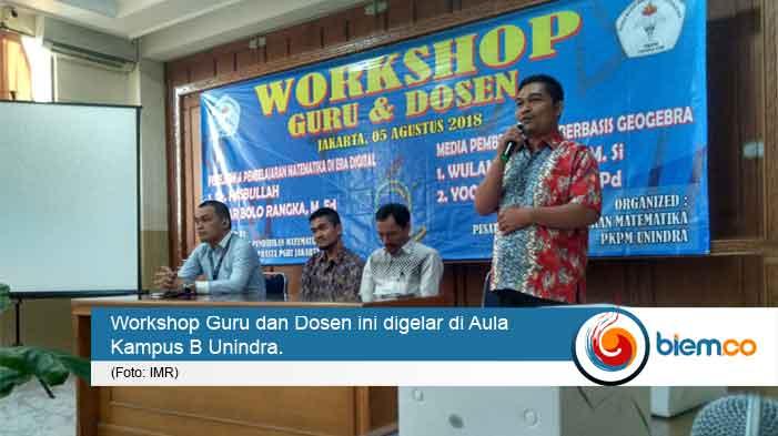 workshop guru dan dosen