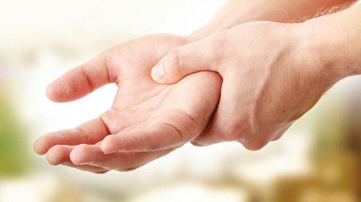 tremor tangan