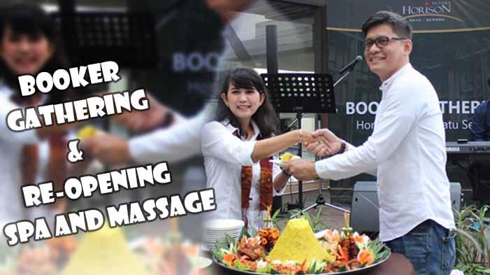 orison Ultima Ratu Serang Gelar Booker Gathering dan Re-Opening Spa and Massage