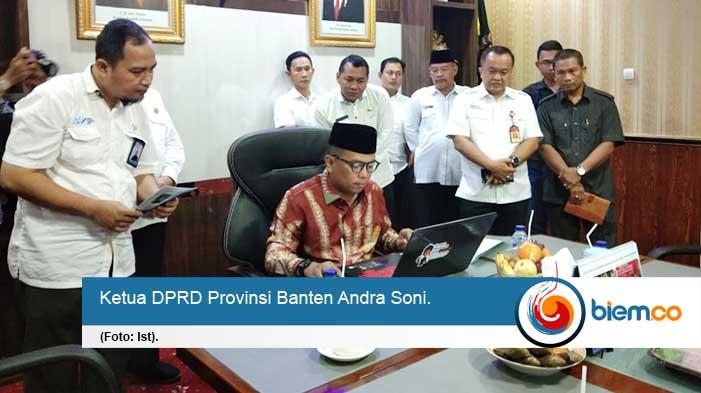 Ketua DPRD Banten Berikan Testimoni Sukseskan Sensus Penduduk 2020