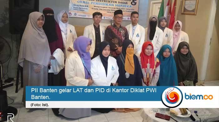 PII Banten Gelar Leadership Advance Training dan Pendidikan Instruktur Dasar