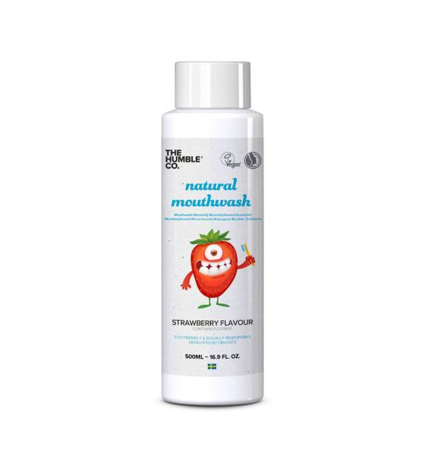 Mouthwash Kids Strawberry Packaging