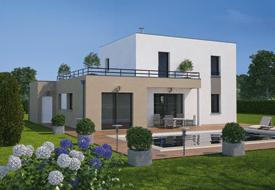 Maison moderne, écologique et… toit terrasse ! - Bien Construire
