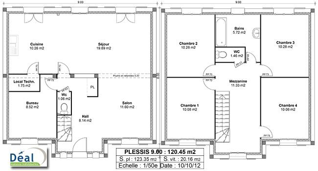 Plans D Pour Mieux Imaginer Sa Future Maison  Bien Construire