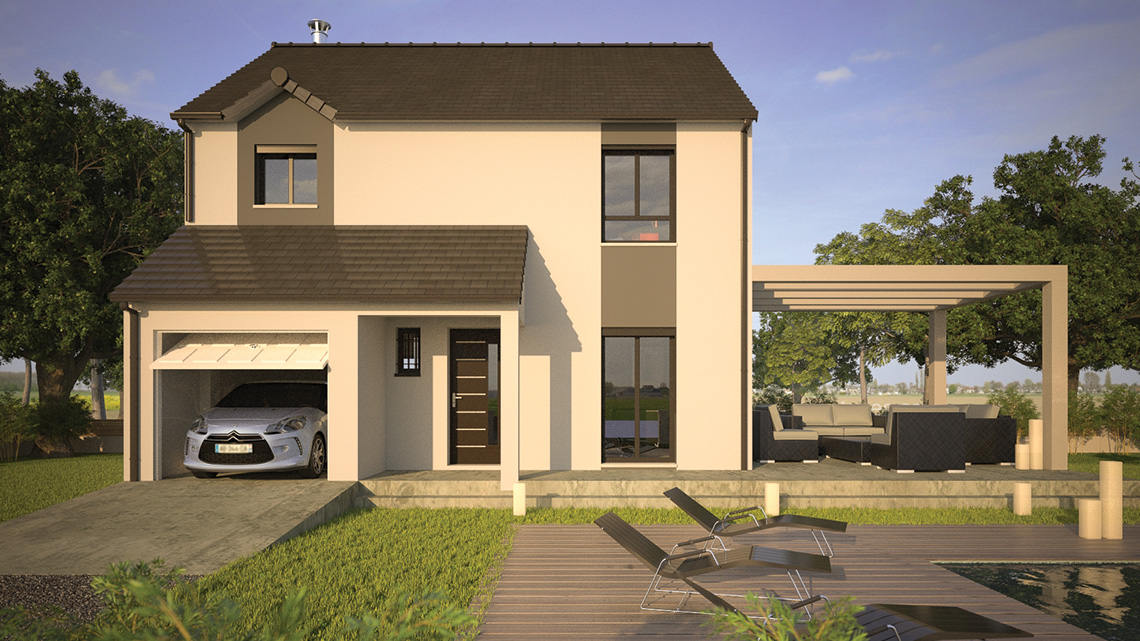 Avec quoi peut on construire une maison - Simulation maison a construire ...