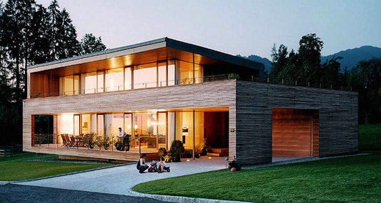 La Maison Ossature Bois, © Bellesdemeuresenbois.com