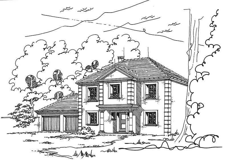 Maison R+1 sur mesure Fontainebleau de JPL Constructions - Bien ...