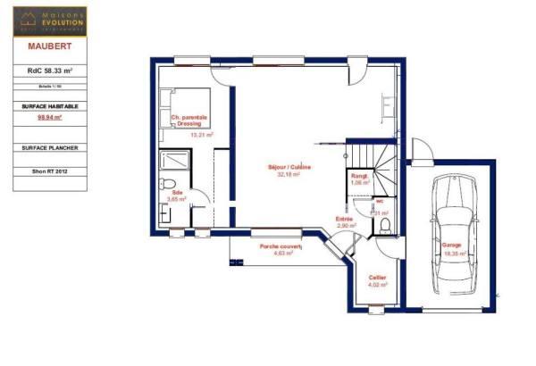 Une Maison De 100 M Avec 3 Chambres A Petit Prix Oui Et Sur Mesure Bien Construire