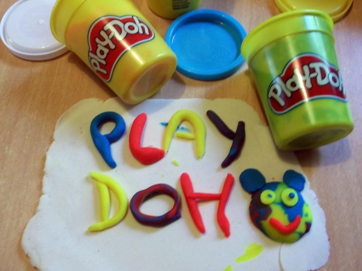 Knetspass beim Play-Doh Kindergartenpreis