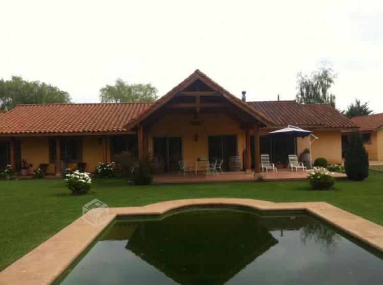 Hermosa casa en parcela de agrado PAV33172