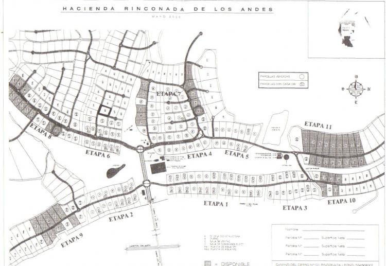 Pumps, Tubos, termo boiler: Mapa rinconada de los andes