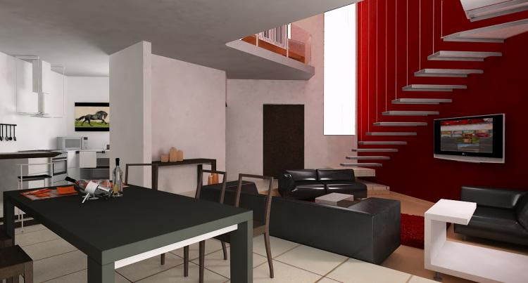 Hermos casa nueva estilo minimalista en residencial