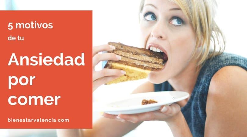 motivos ansiedad por comer