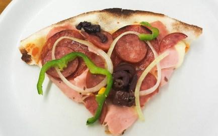 Pizza baja en calorías fácil y rápida