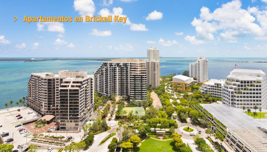 Apartamentos en Brickell Key  Bienvenido a Florida