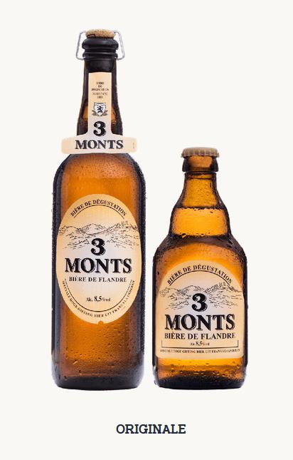 Bière 3 Monts Originale.