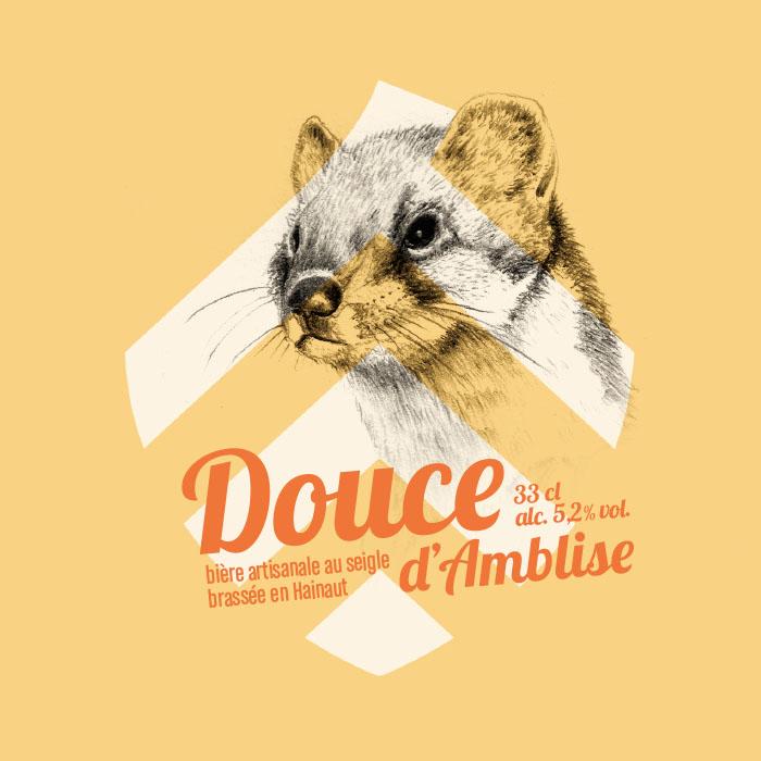 Bière Douce d'Amblise.