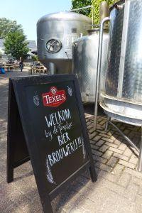 Toegang terras proeflokaal Texelse Bierbrouwerij