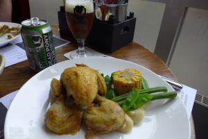Tiel De Beur bier en kip