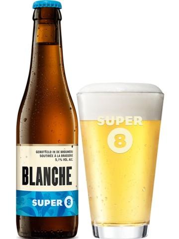 biere super 8 blanche