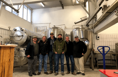 Bachweg Brewing group photo of partners