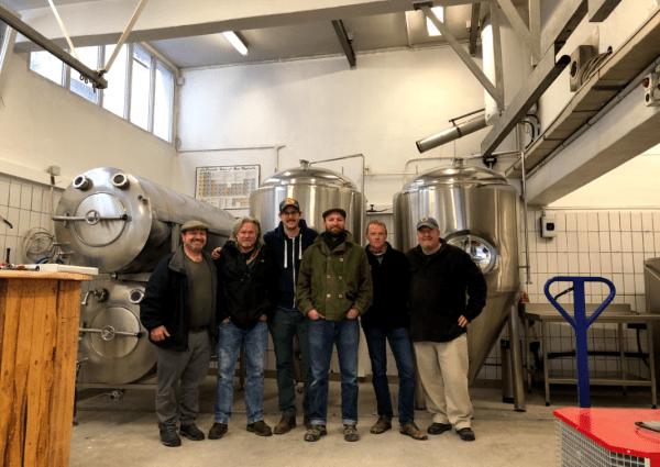 Bachweg Brewing group photo of partners
