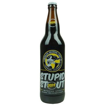 Coronado Brewing – Stupid Stout 2014 65cl