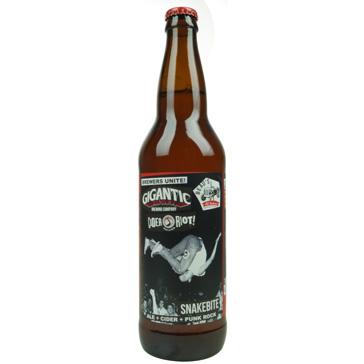 Gigantic Brewing Company – Gigantic Snakebite Ale & Cider 65Cl